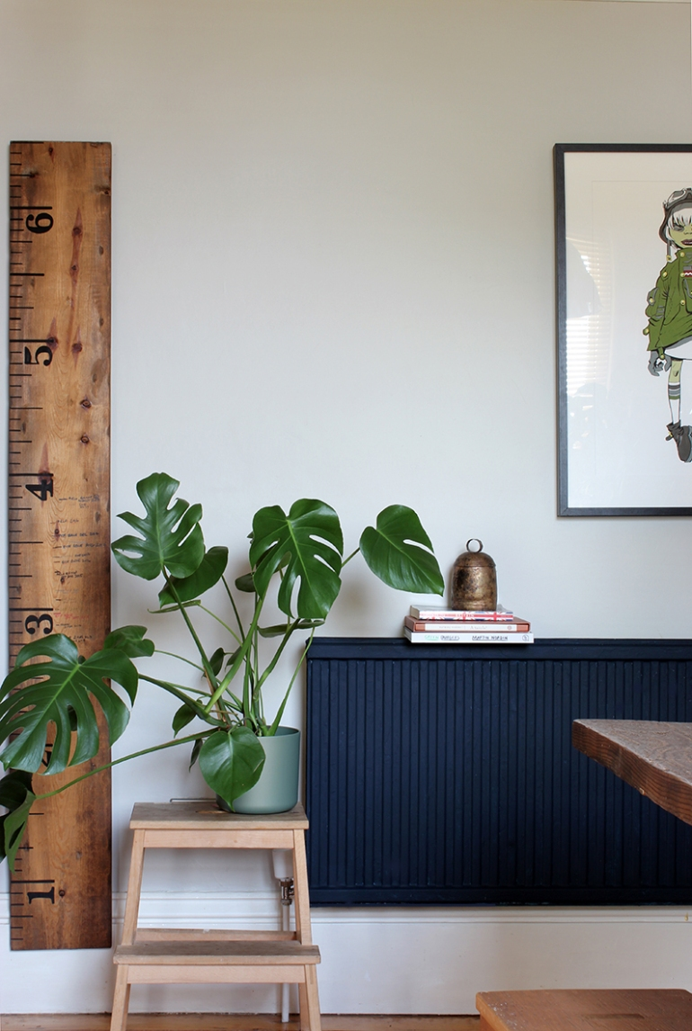 Colour Block Navy Blue Radiator